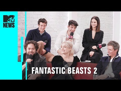'fantastic-beasts-2'-cast-on-script-surprises-&-pick-up-lines-|-mtv-news