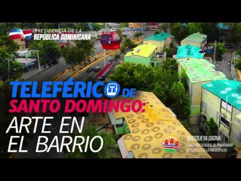 VIDEO: Teleférico de Santo Domingo: arte en el barrio