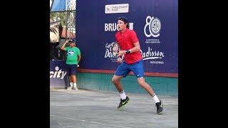 Nicolás Jarry vs Guido Pella - 2017 Santo Domingo Challenger QF (HIGHLIGHTS)