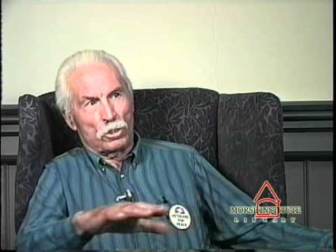 Brailsford World War II veteran Natick Veterans Oral History Project YouTube sharing