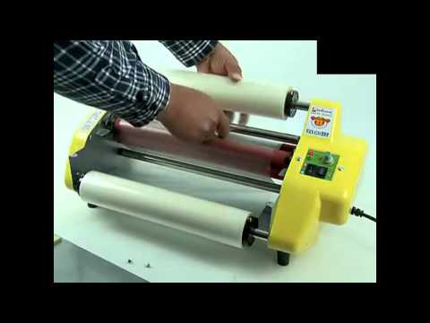 Hot Roll Laminator Operation