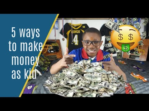 Download or watch: 5 ways to make money even as a kid