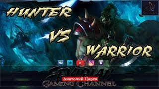 World Of Warcraf Vanila 1.12.1: Sakury(Hunter) vs Emigrant(Warrior) Fun PvP Video