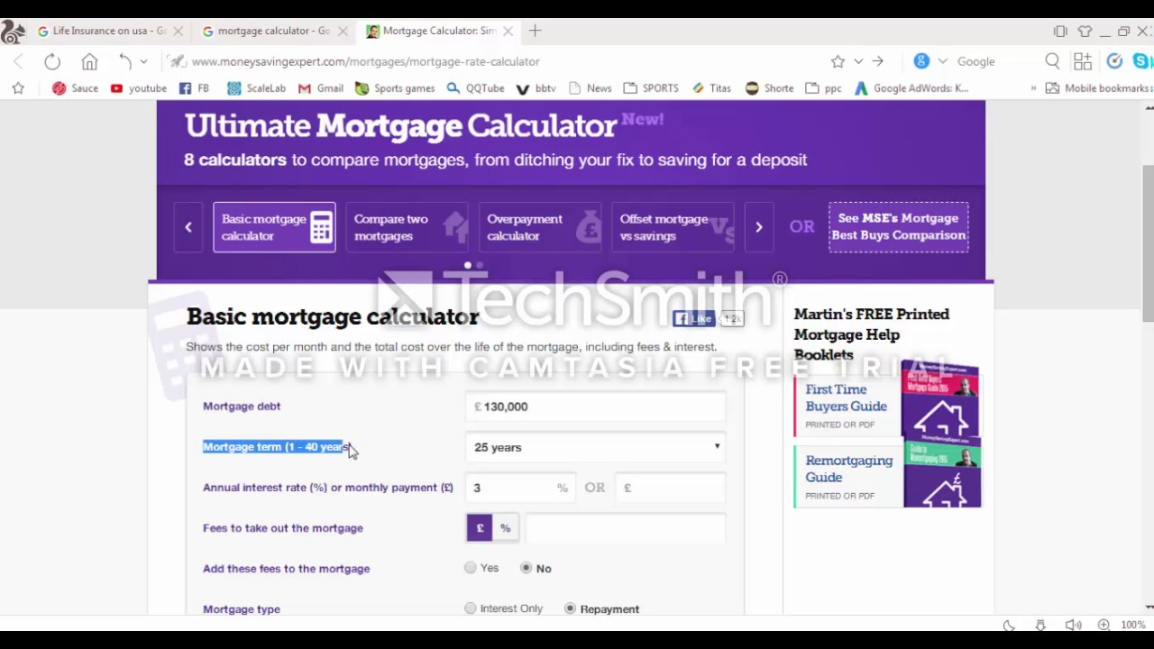 mortgage calculator usa simple calculator for repayment interest