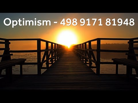 Grabovoi Numbers - Optimism - 498 9171 81948