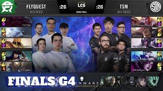FlyQuest vs TSM - Game 4 | Grand Final Playoffs S10 LCS Summer 2020 | FLY vs TSM G4