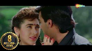करिश्मा कपूर और अजय देवगन का रोमांटिक गाना - मेरे दिल को करार ... - जिगर मूवी - 90 का रोमांटिक गाना