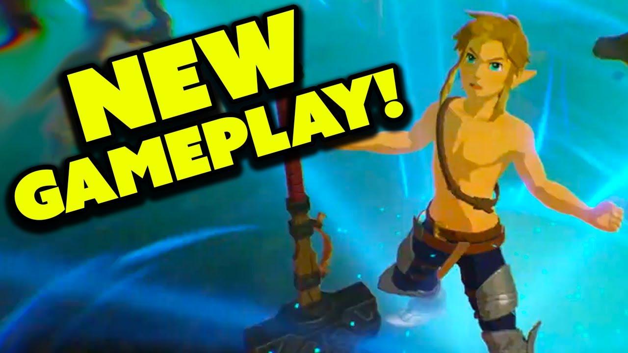 New Hyrule Warriors Age Of Calamity Gameplay Nintendo Treehouse Youtube