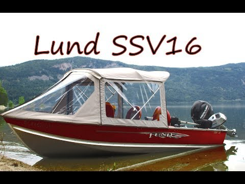 Lund SSV Fishing Boat
