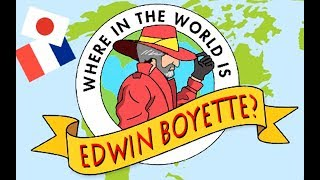 Where in the world is EDWIN BOYETTE?  ALOHA!