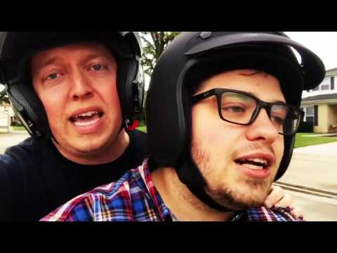 Felix and Fingers Go For a Ride