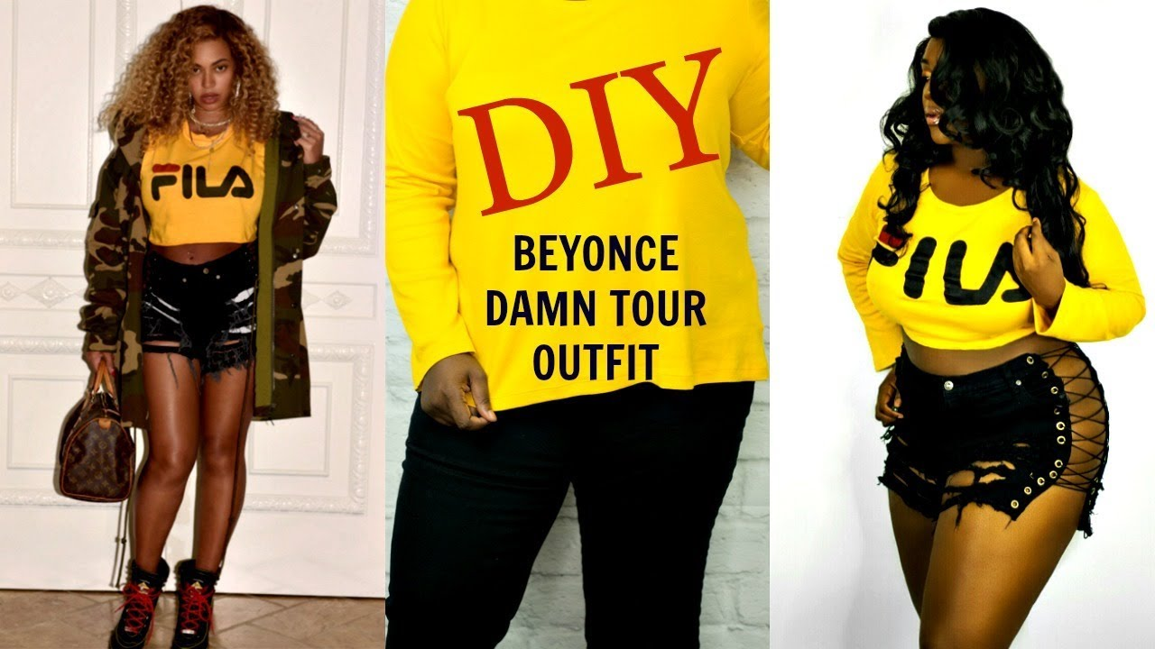 DIY Beyonce FILA Outfit (ALL THRIFTED!)