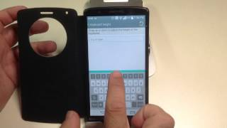 LG G3 Tips:  How to increase the size of the keyboard