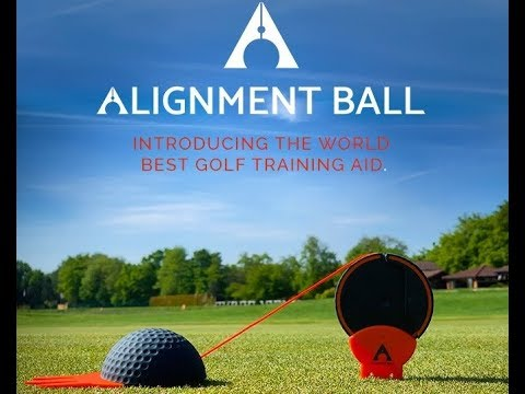 Alignment ball, train better to play better golf