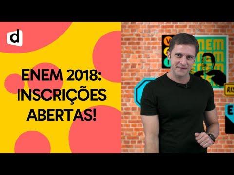 PASSO A PASSO PARA SE INSCREVER NO ENEM 2018 | PLANTÃO DESCOMPLICA