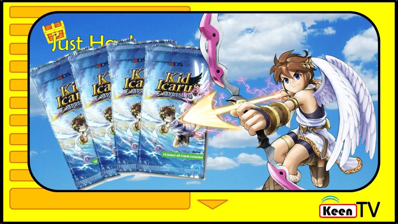 Kid Icarus Haul Opening An Entire Booster Box Of Uprising AR Cards