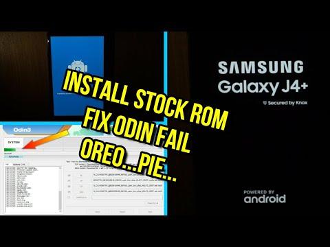 Flash samsung galaxy j4 plus stock rom fix odin fail (J415) - YouTube