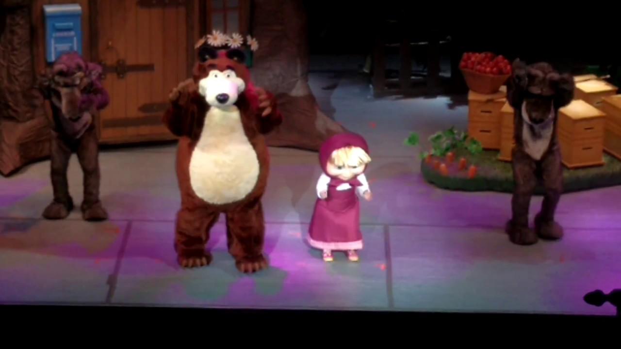 MASHA y EL OSO teatro El nacional Argentina 2017