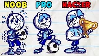 Pencilmate & Pencilmiss 🏉🏈 2021 NEW FOOTBALL COMPILATION 🏉🏈 SPORTS ✅ Cartoons