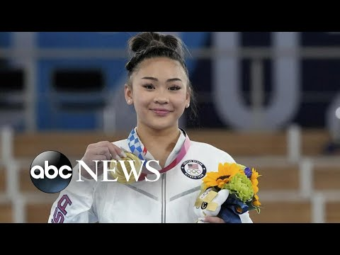American Suni Lee takes Olympic gold medal in gymnastics l WNT