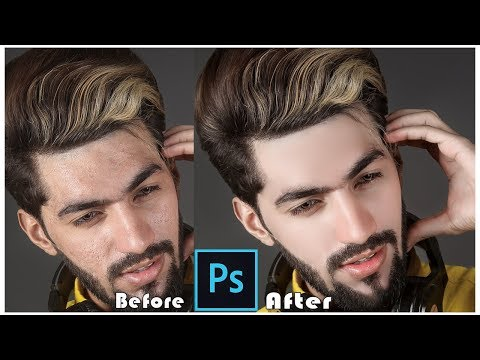 High-End Skin Retouching With Skin Smooth Brush Download Link In Photoshop