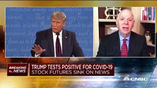 President Donald Trump's Covid-19 diagnosis shows how dangerous this virus is: Sen. Cardin