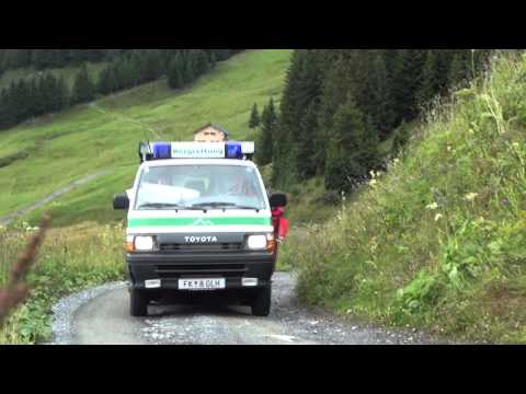 Bergrettung Damüls - Cold Water Challenge
