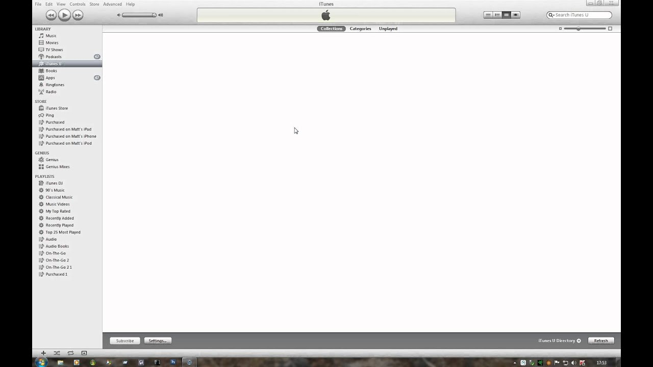 How to turn on Automatic Downloads within iTunes (iCloud)