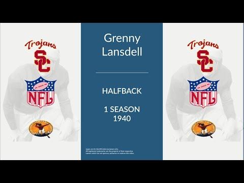 Grenny Lansdell: Football Halfback