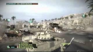 m2 bradley vs c4 laden kobra   battlefield bad company 2 clip
