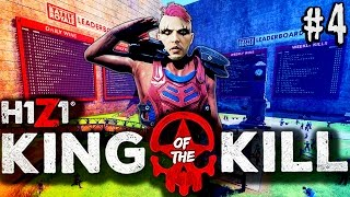 H1Z1 King of the Kill 5-MAN | GOING FOR FIRST!! BUTTLE ROYALE! | H1Z1 KOTK Battle Royale Gameplay