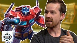 Optimus VS Burning Gundam? | DEATH BATTLE Cast