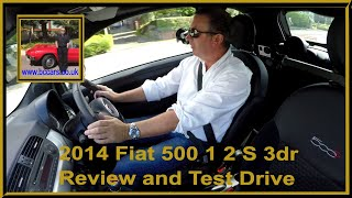 Review and Virtual Video Test Drive in our Fiat 500 1 2 S 3dr