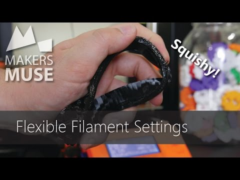 3D Printing with Flexible Filaments (on stock hardware!) -3DP101
