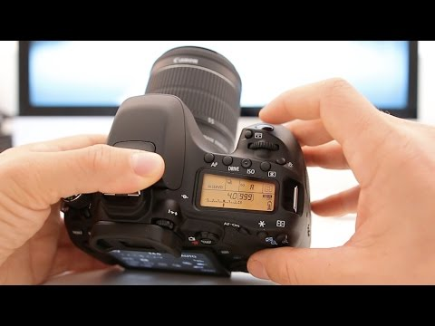Canon 80D Tutorial - Beginner's User Guide to the Menus & Buttons