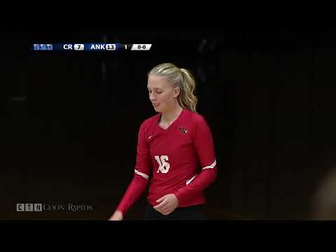 Prep Volleyball Coon Rapids at Anoka 9.19.17 (Full Game)