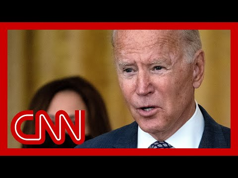 Biden gives update on crisis in Afghanistan