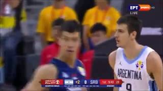Argentina - Serbia 97-87 Basketball World Cup 2019 Quarter-Final. (10/09/2019)
