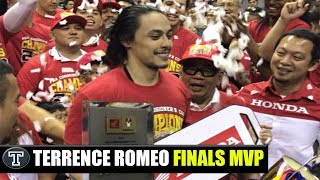 Finals Game 6: San Miguel vs. TNT║ Awards Night Terrence Romeo as Finals MVP