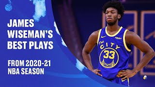 James Wiseman's Best Plays From His Rookie Year   2020-21 Highlights