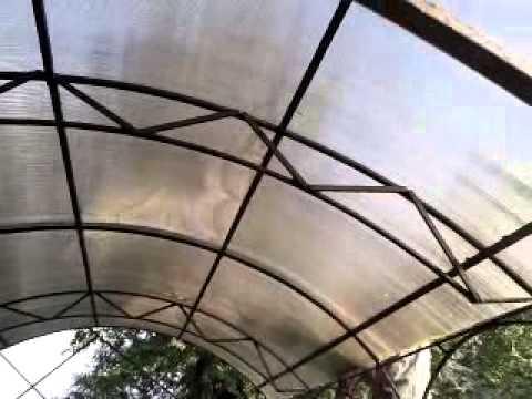 видео: Самодельная беседка из поликарбоната\homemade canopy of polycarbonate