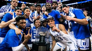 Duke March Madness Hype Up Video 2019