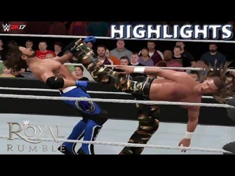 WWE 2K17 SHAWN MICHAELS VS AJ STYLES - DREAM MATCH HIGHLIGHTS