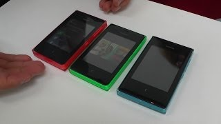 Nokia Asha 500, 502 e 503 in anteprima live dal Nokia World 2013 - TVtech