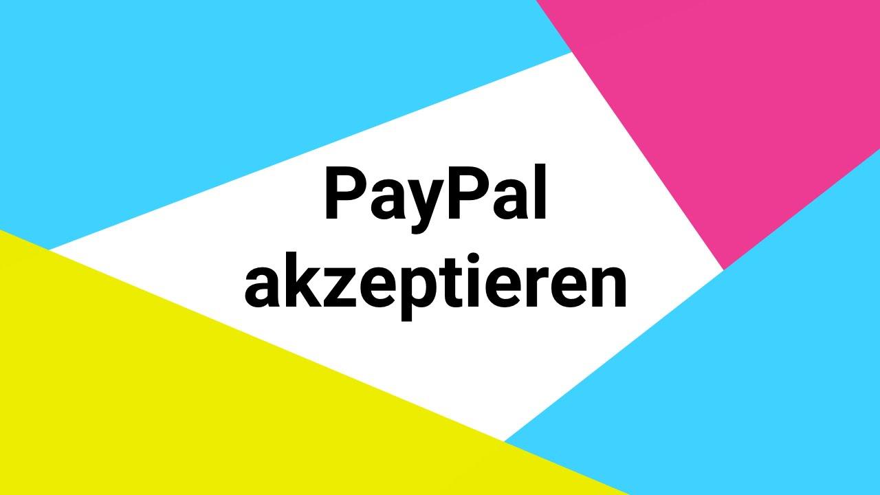 Mit Paypal Zahlen
