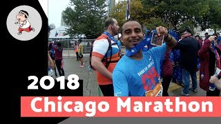 How to run a marathon. Chicago Marathon 2018. A fun experience