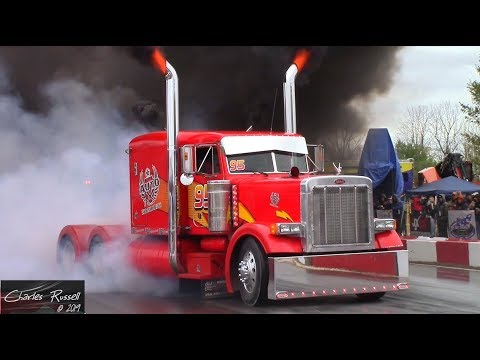 Great Lakes Big Rig Challenge 2019 Burnout Compilation