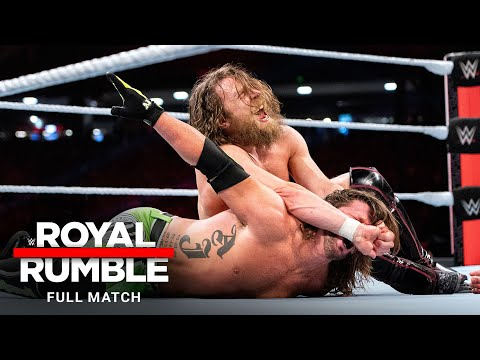 FULL MATCH - Daniel Bryan vs. AJ Styles – WWE Title Match: Royal Rumble 2019