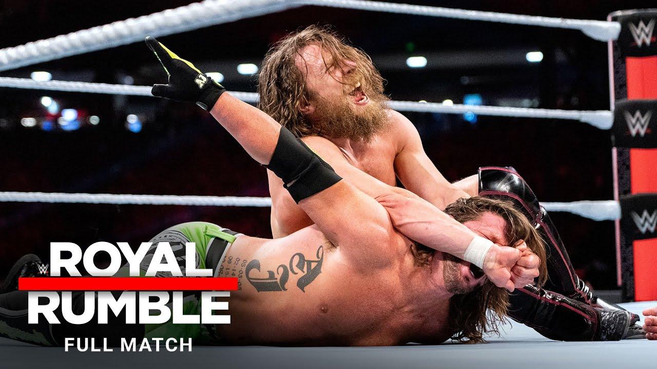 FULL MATCH - Daniel Bryan vs. AJ Styles – WWE Title Match: Royal Rumble 2019