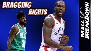 Kawhi Leonard Puts Raptors Over Celtics